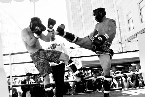 Muay Thai Kickboxing: In Action
