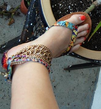 Gypsy sandals