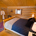 Hillary Log Cabin Interior / Photo by Eric Berger