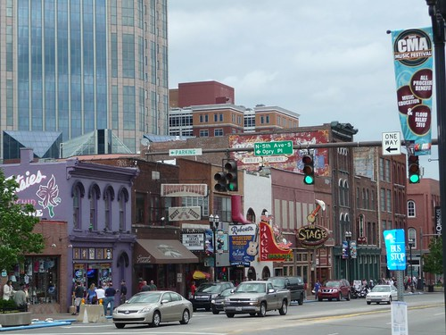 downtown nashville.