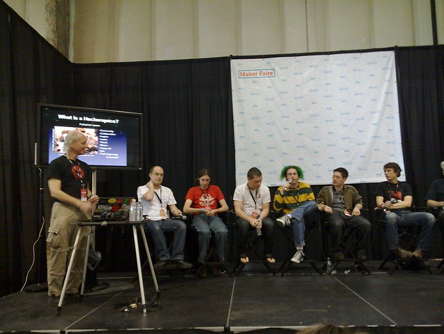 Hackerspaces Panel