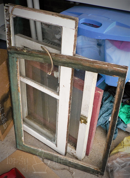 window table old frames someday crafts farmhouse