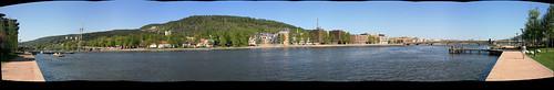 Drammen panorama