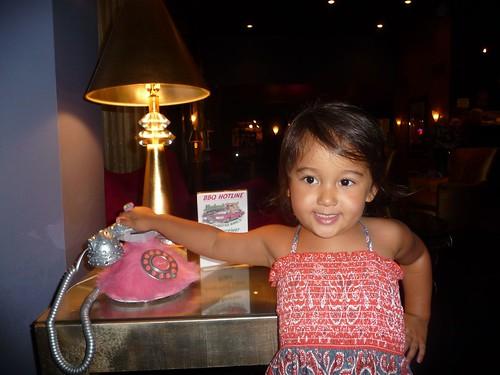 pink phone.