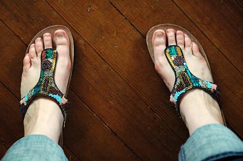I got new shoes