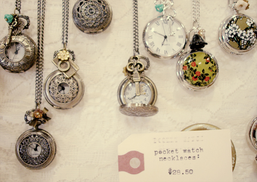 bazaar bizarre: pocket watches.