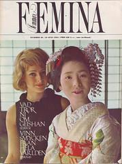 FEMINA july 1964 Cover (StudioStrawberri) Tags: japan japanese 60s scan maiko geisha kimono 1960s
