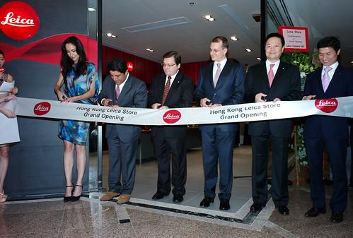 Grand Leica store opening in Hong Kong