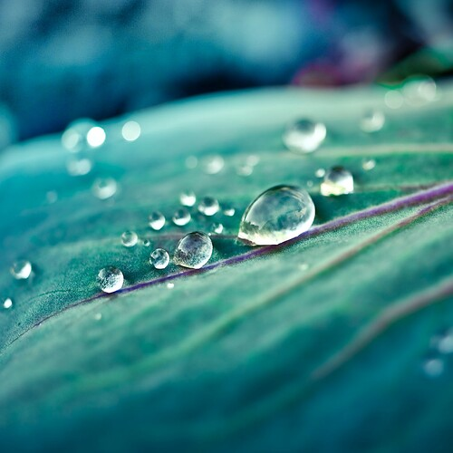 nature / water droplet / background texture / organic / natural / leaf / bokeh / macro
