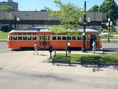 Standing Room Only (streetcarbrad) Tags: wisconsin streetcar johnstown kenosha pcc 4615