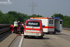 Motorradunfall A66 Biebrich 29.05.10