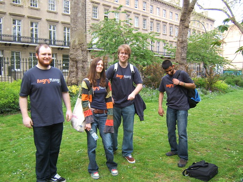 Gregg, Kate, Matt and Ahmed - Dare to be Digital Interview