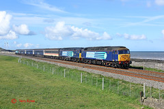 57007+47712+57008 Siddick (Tel's Odds and Ends) Tags: river coast derwent class 47 57 c