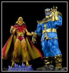 Bowen Adam Warlock & Thanos (insomniac 2.0) Tags: adam silver surfer infinity watch chrome superhero bowen mad marvel titan cosmic warlock gauntlet thanos