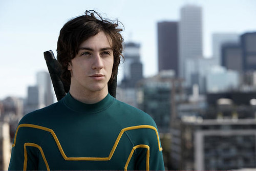 Aaron Johnson as Kick-Ass/Dave Lizewski
