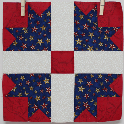 Quilt of Valor Block 01