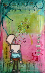 Art journal - Time for a clear out (thekathrynwheel) Tags: art moleskine collage artjournal journaling stampotique