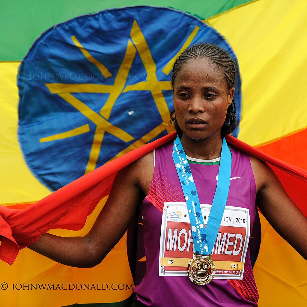 Merima Mohammed - Winner Women's Marathon