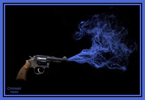 Smoking Gun, From FlickrPhotos