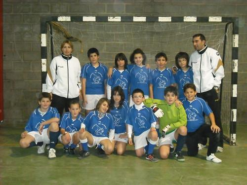Equipo Alevín (11 - 12 años) 2009/2010