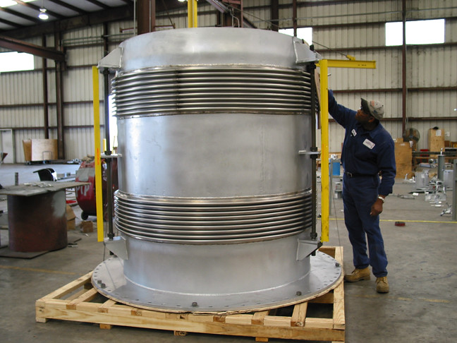 Tied Universal Expansion Joint for Chemical Company in Texas