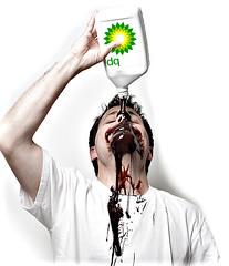 "Breaking news!! Really....? (Eric ""Claptn"" Nelsn) Tags: selfportrait me oil bp spill oilslick selfie shameonyou ericanelson britishpetroluem wwwericnelsonphotographycom fyoubp oilcompanygreed whereisthehelp f64g21r1win"