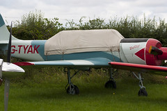 G-TYAK - 899907 - Private - Bacau Yak-52 - 060827 - Little Gransden - Steven Gray - CRW_4293