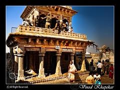 Ramjharokha..in Ramtek.... (Vinod Khapekar) Tags: rock landscape flickr tample vr 18200mm d90 nikor ramtek nikond90 goldensummer vinodkhapekar ramjharokha