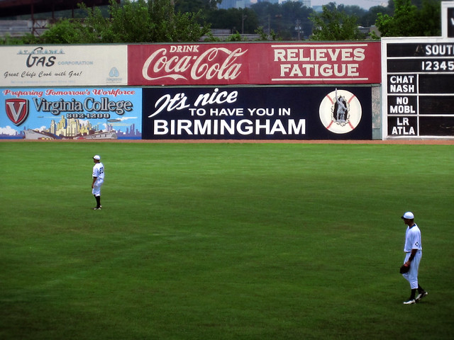 Rickwood outfield