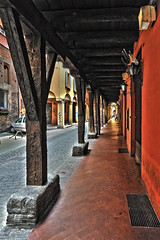 Via Marsala (Gojame) Tags: italien italy nikon italia emilia bologna hdr italie portico emiliaromagna viamarsala afs24120vr d700