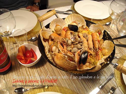 Paella-in-tavola