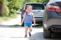 Ivan (ngtv) Tags: road cute car canon kid little ivan suburb jupiter 135mm 37a 40d memorycornerportraits