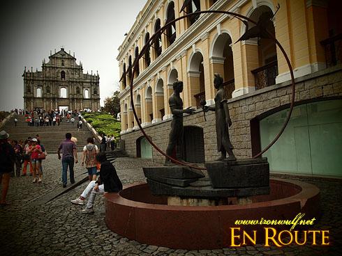 Macau Old Town St Pauls Park