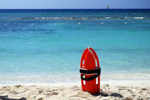 Jamaica - lifeguard buoy