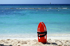 Jamaica - lifeguard buoy