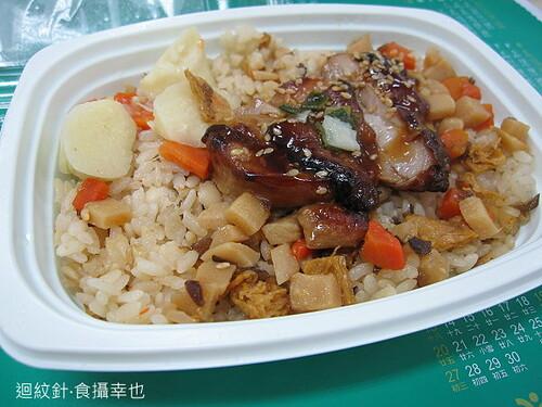 7-11晨採鮮筍燕麥飯米飯仔細看