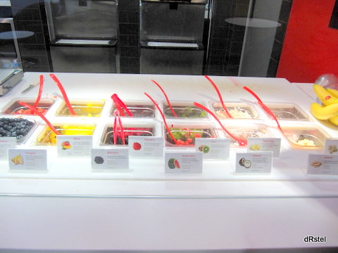 Red Mango toppings