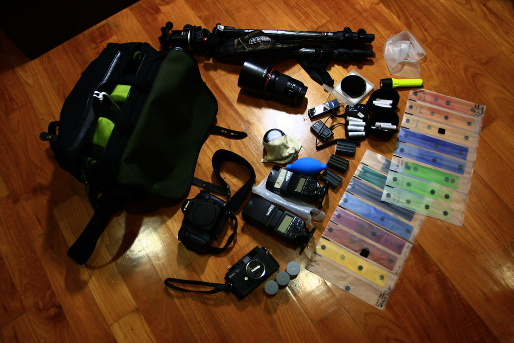 What's in Edward's camera bag.