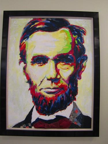 Pop art Lincoln