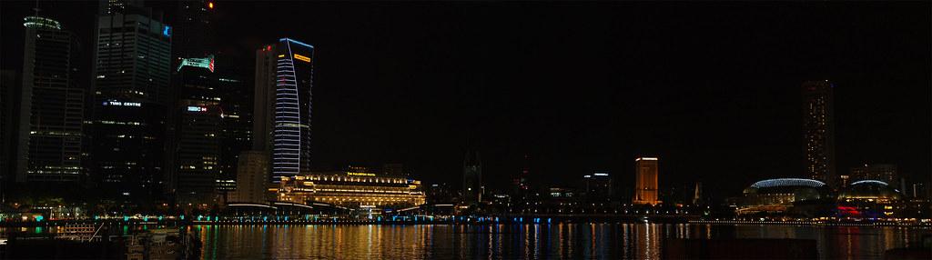 Marina Bay夜景