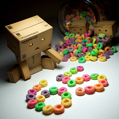 065/365:  65 Days And Counting... (Randy Santa-Ana) Tags: life food toys milestone count fruitloops danbo gf1 project365 danboard minidanboard minidanbo 365daysofdanbo