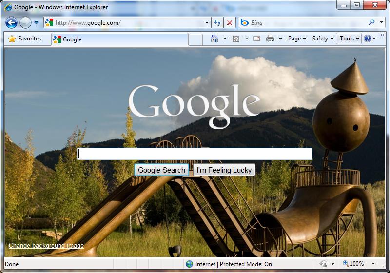 Bing Day at Google?