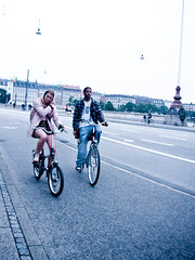Cycle Tracks Couple