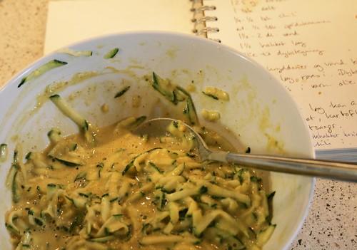 zucchini fritter batter