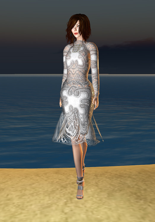 Niven 10 Linden Lace Dress