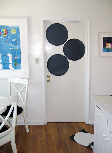 Kitchen+Laundry Room+Chalkboard Dots+removable chalkboard decal -2