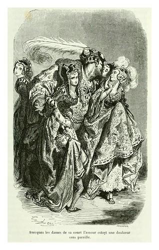 011-El ayuno de Francisco I-Les contes drolatiques…1881- Honoré de Balzac-Ilustraciones Doré