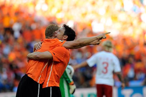 World Cup 2010 South Africa: Netherlands v Denmark