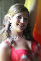 Light and fire (Gordana AM) Tags: light red portrait orange woman baby ontario canada colour girl beautiful smile vertical lensbaby lens dancing natural stage side dancer location clothes belly flame windsor oriental performers lb composer bellydancers class2010 lepiafgeo happybirthdaylensbaby