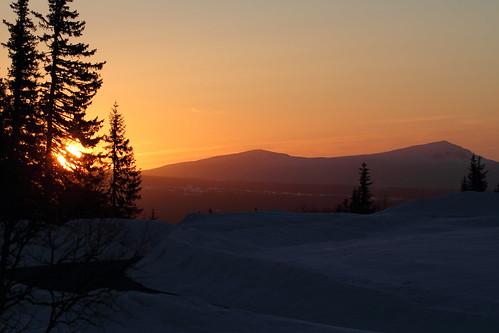 Sunrise over Ansätten